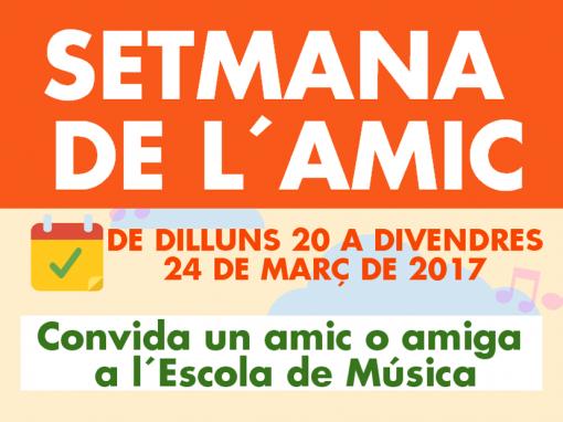 SETMANA DE L'AMIC