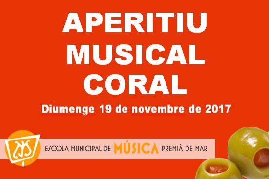 APERITIU MUSICAL CORAL 23 de desembre