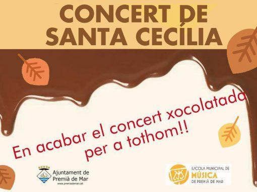 CONCERT XOCOLATADA DE SANTA CECILIA 22 de novembre