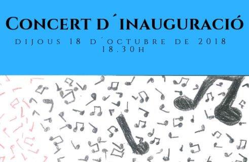 Concert Inauguració Curs 2018-2019