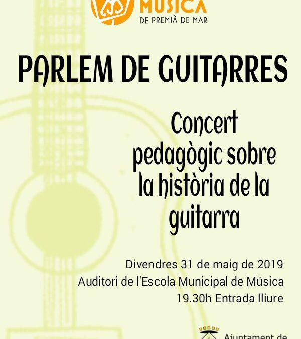 Concert pedagògic sobre la història de la guitarra