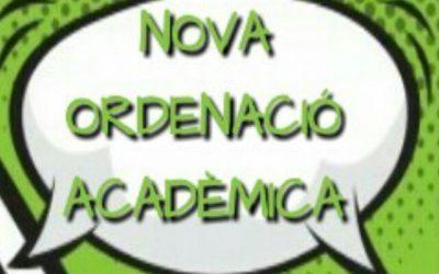 Nova Ordenació Acadèmica